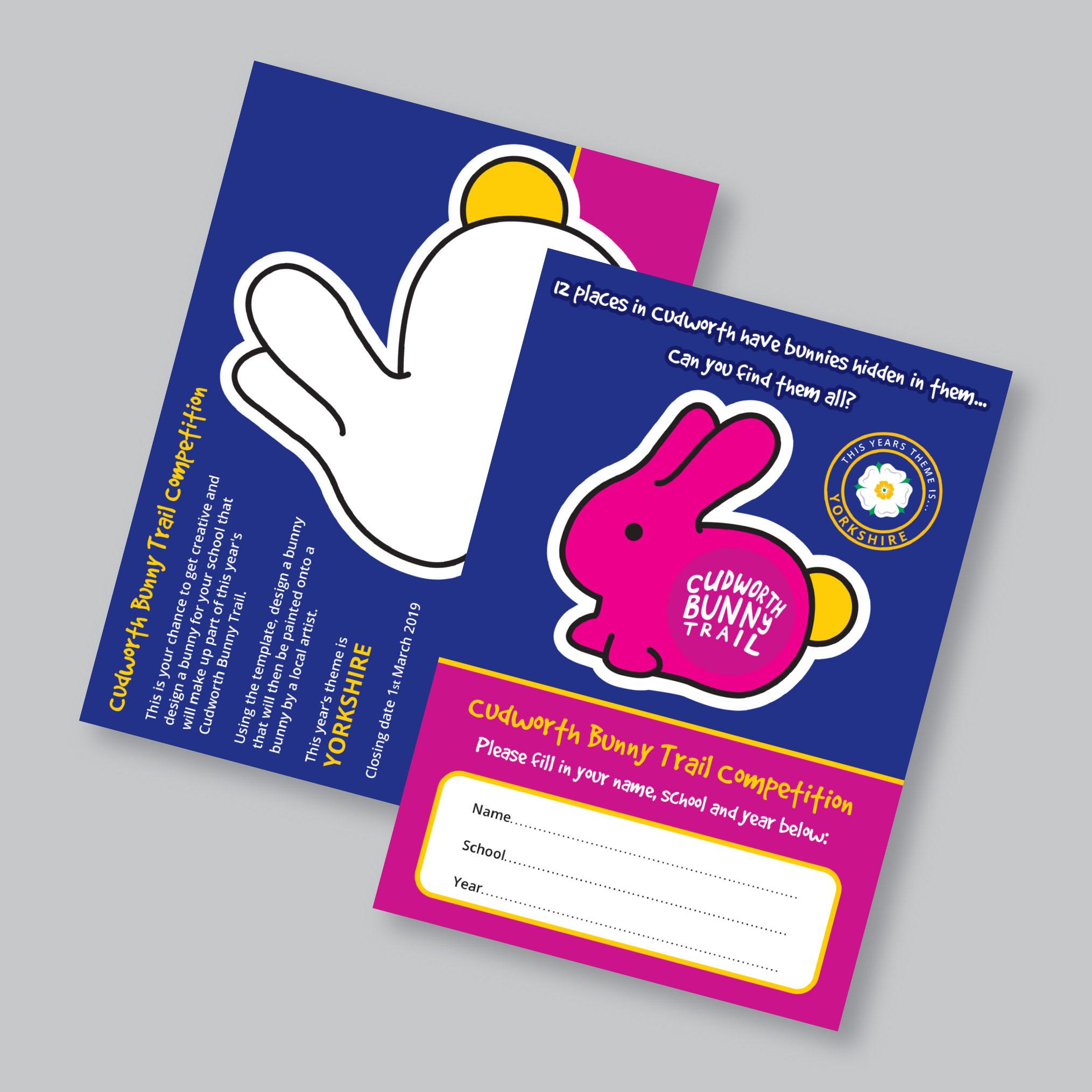 Cudworth Bunny Trail Leaflet