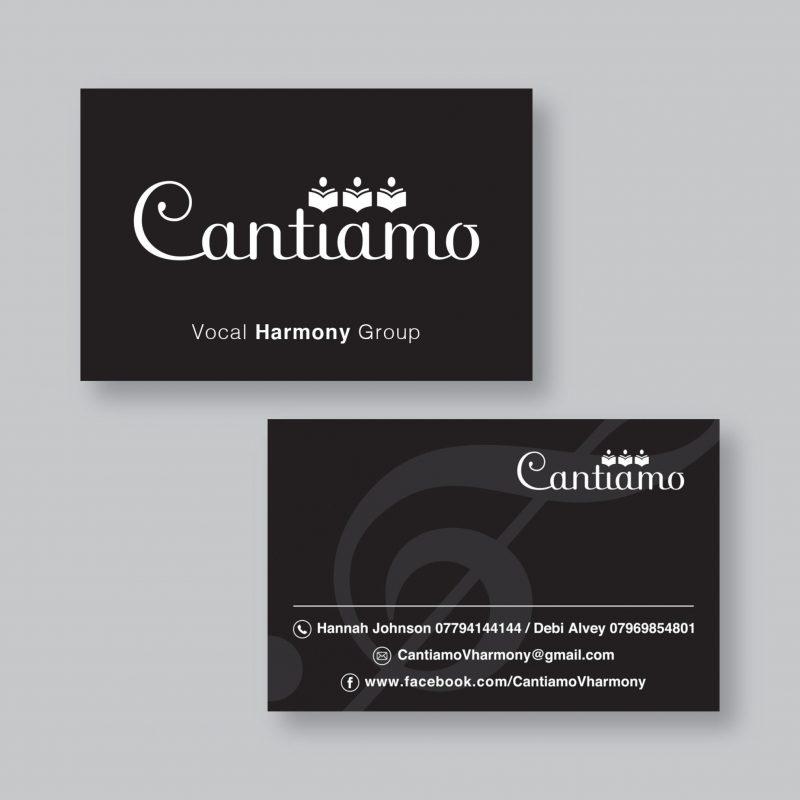 Cantiamo Business Cards