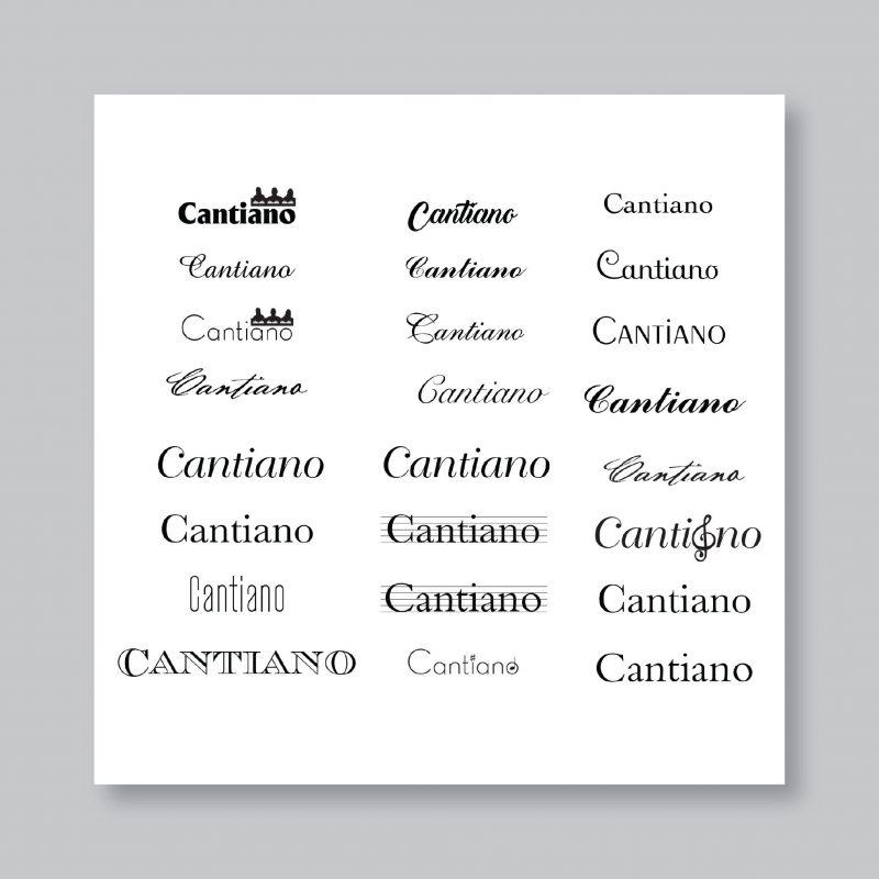 Cantiamo Corporate ID WIP