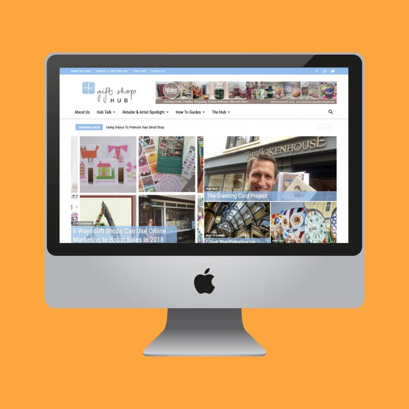 Gift Shop Hub Website