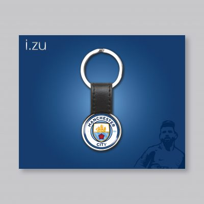 Man City Keyring Poster