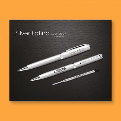 Silver Latina Ballpen