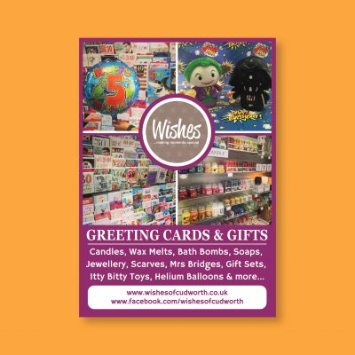 Wishes Card Shop Poster