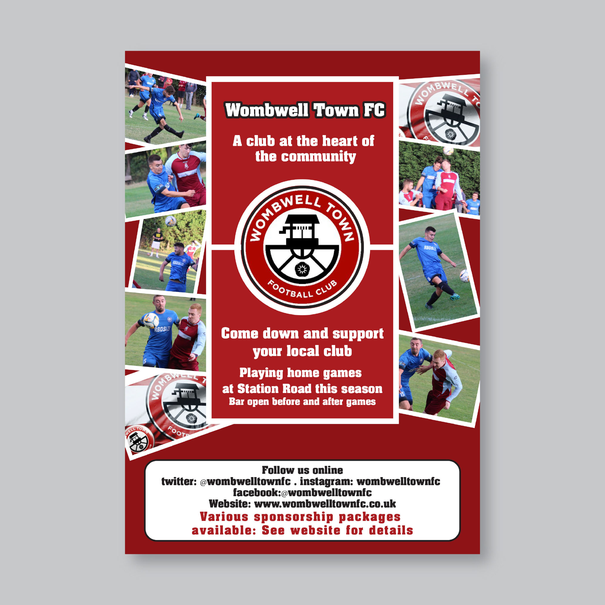 Wombell Town FC Flyer