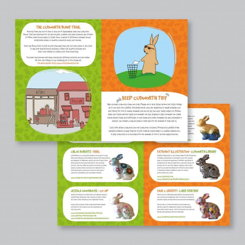 Cudworth Bunny Trail Leaflet Inner
